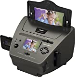 """Rollei PDF-S 340 - Multi Scanner für Dias, Negative und Fotos mit 14 Megapixel und 6,0 cm (2,4"""") LTPS LCD Farbmonitor, inkl. vielen Zubehör - Schwarz"""