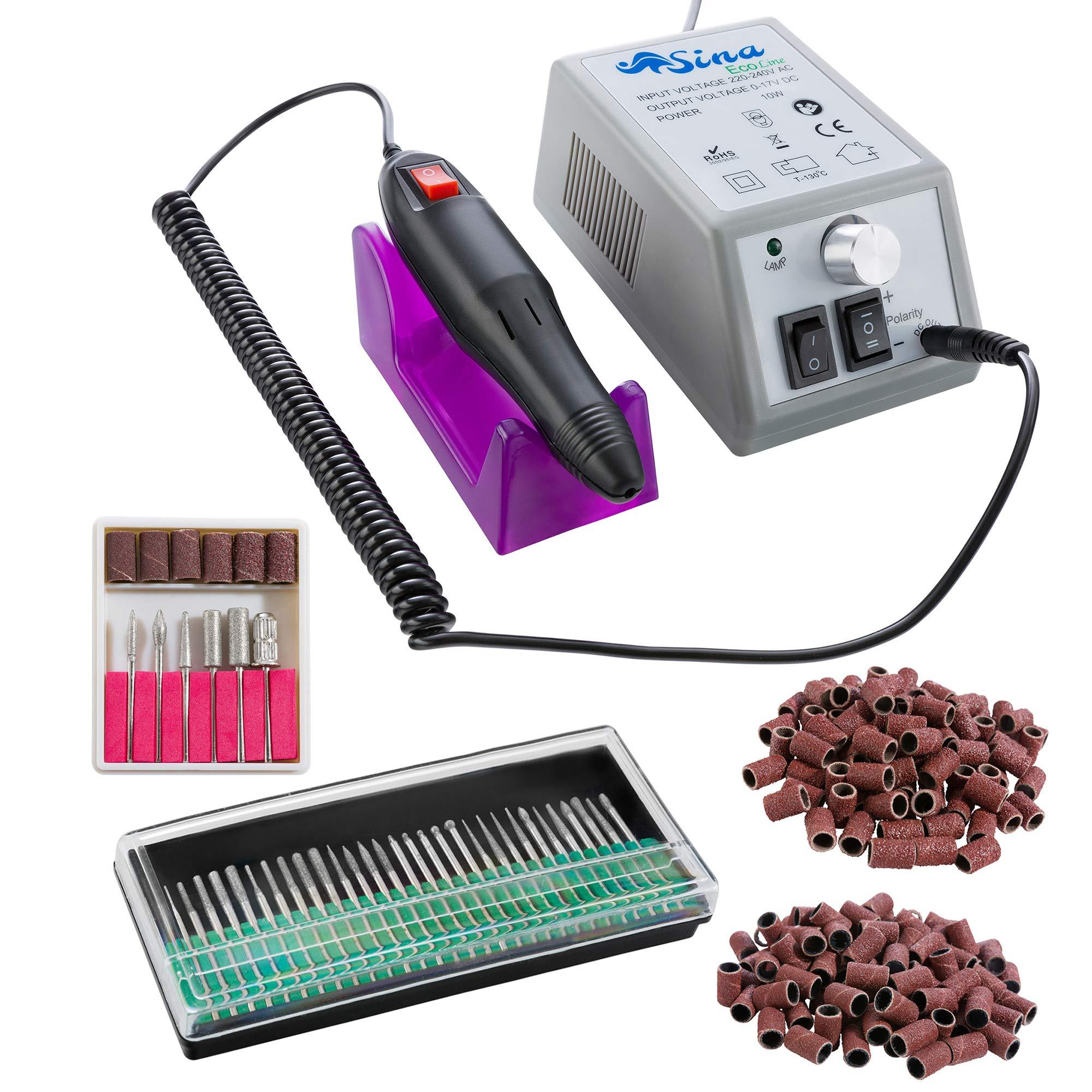 Sina Ponceuse Electrique Lime Ongles Manucure Pédicure avec Nombreux Accessoires product image