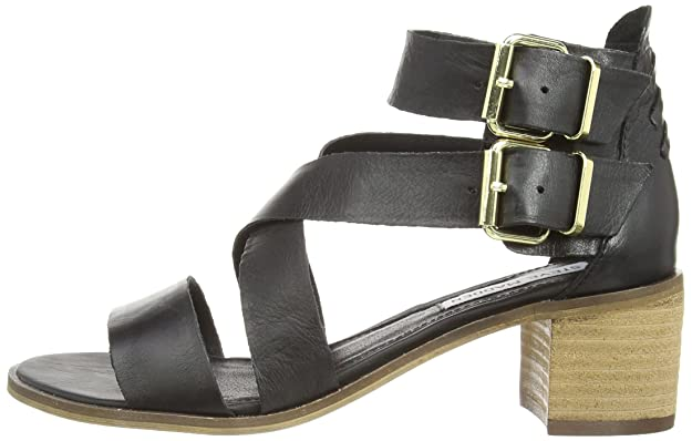 05fc44d98e4 Steve Madden Women's Rosana Sm Cone Heel Sandals