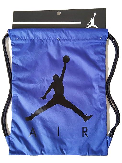 fa34c30139d8 Nike Air Jordan Jumpman ISO Gym Sack (Blue/Black): Amazon.in: Sports ...