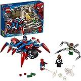 Lego Marvel Spider-Man: Spider-Man vs. Doc Ock 76148 Superhero Playset with 3 Minifigures, Great Toy  Kids