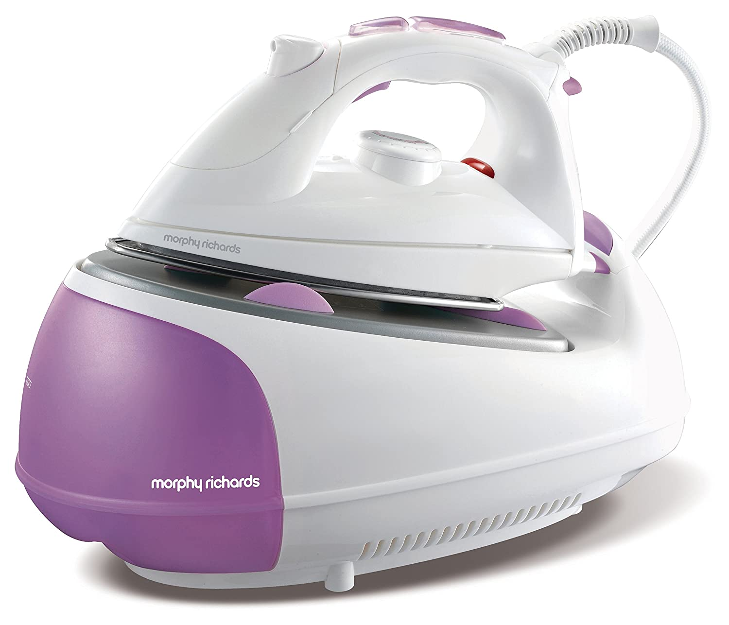 Morphy Richards Jet Steam Generator Iron 333020 Pink White Steam Generator Irons [Energy Class A]