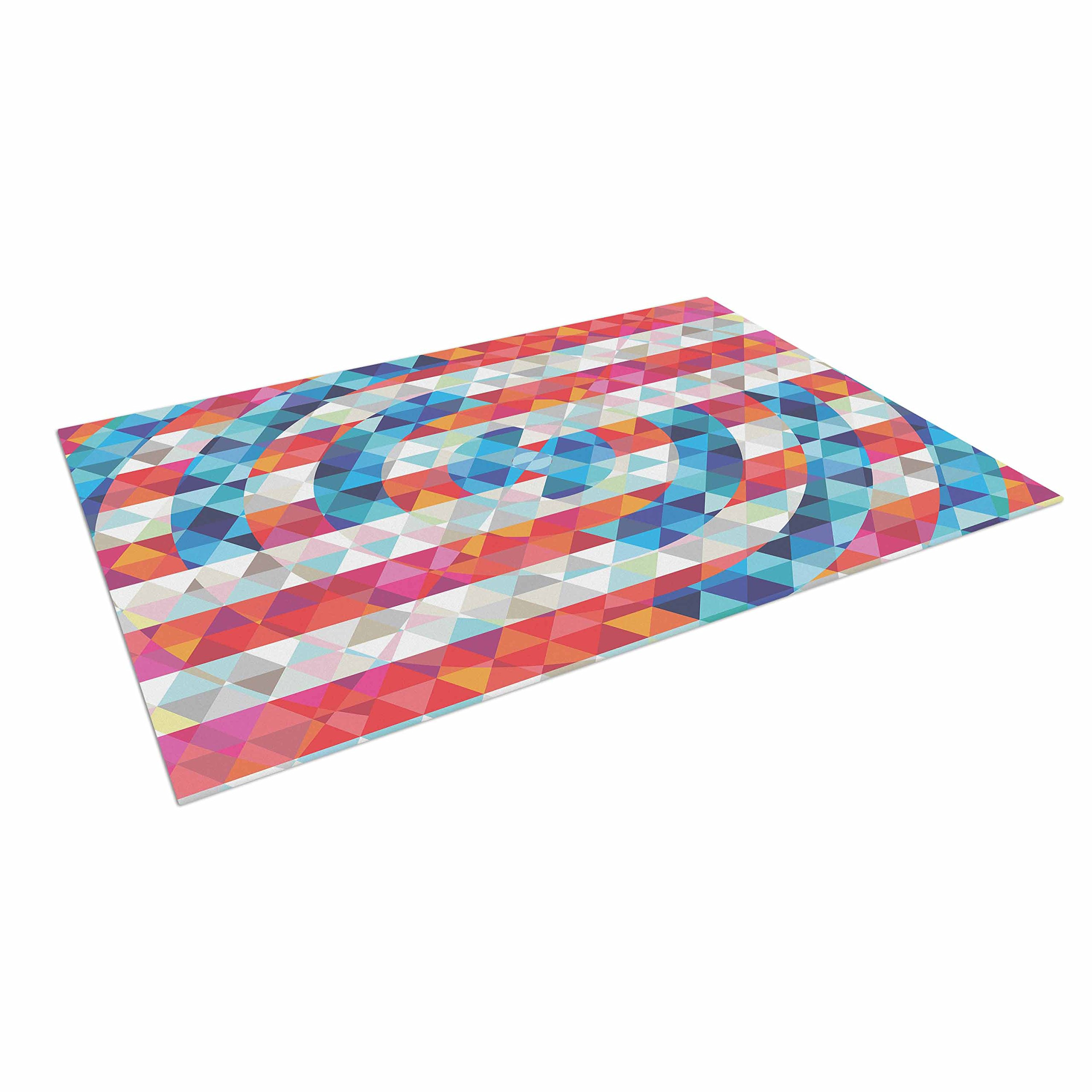 KESS InHouse Fimbis ''Abstract America'' Digital Outdoor Floor Mat, 4' x 5'
