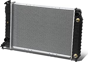 Replacement for Chevy S10 / GMC Sonoma 2.2L 1-5/16 inches Inlet OE Style Aluminum Direct Replacement Racing Radiator