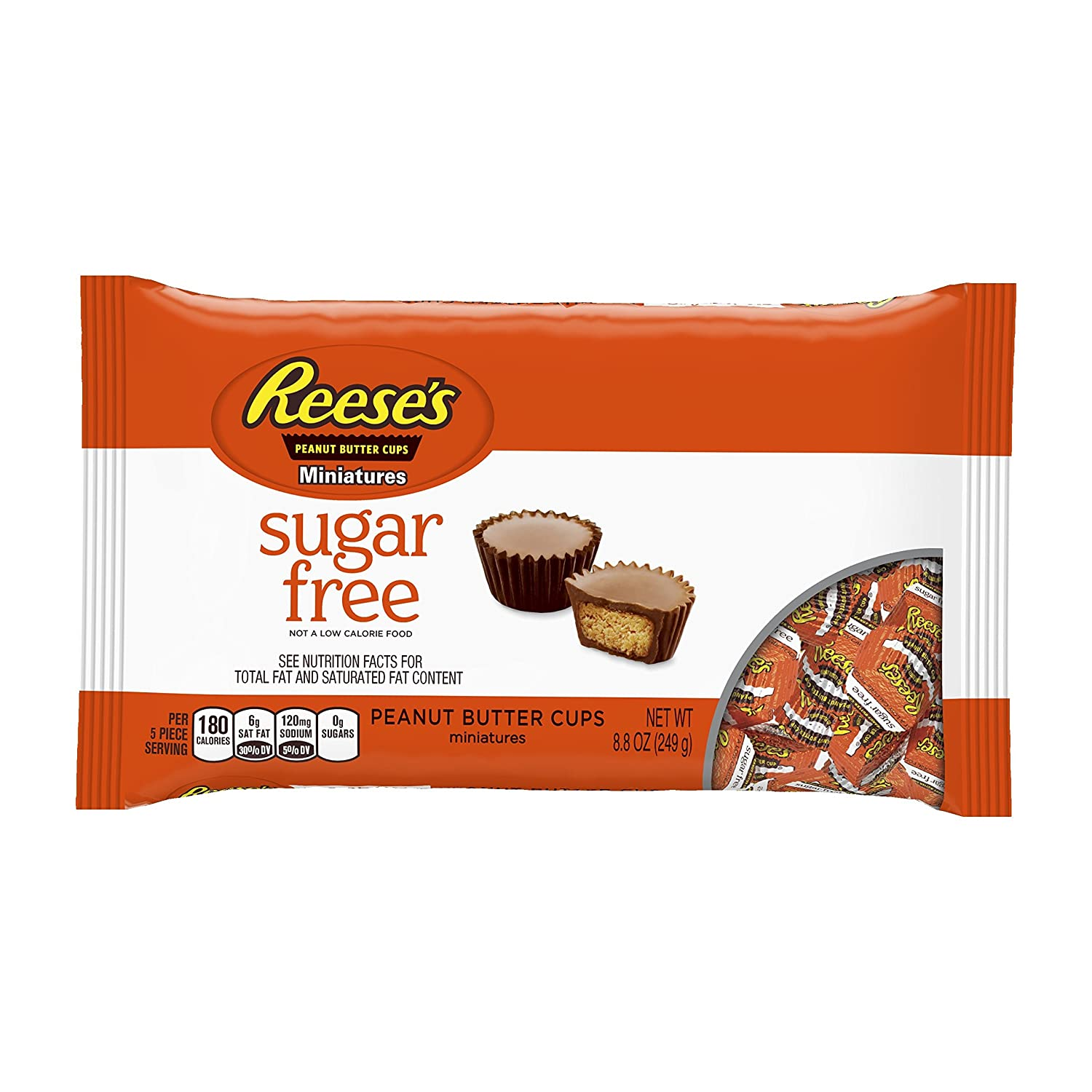 REESE'S Peanut Butter Cup Miniatures, Sugar-Free/Gluten Free