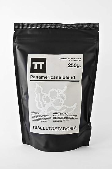 Cafe molido natural 250g arabica 100 % - Molido para Cafetera ...