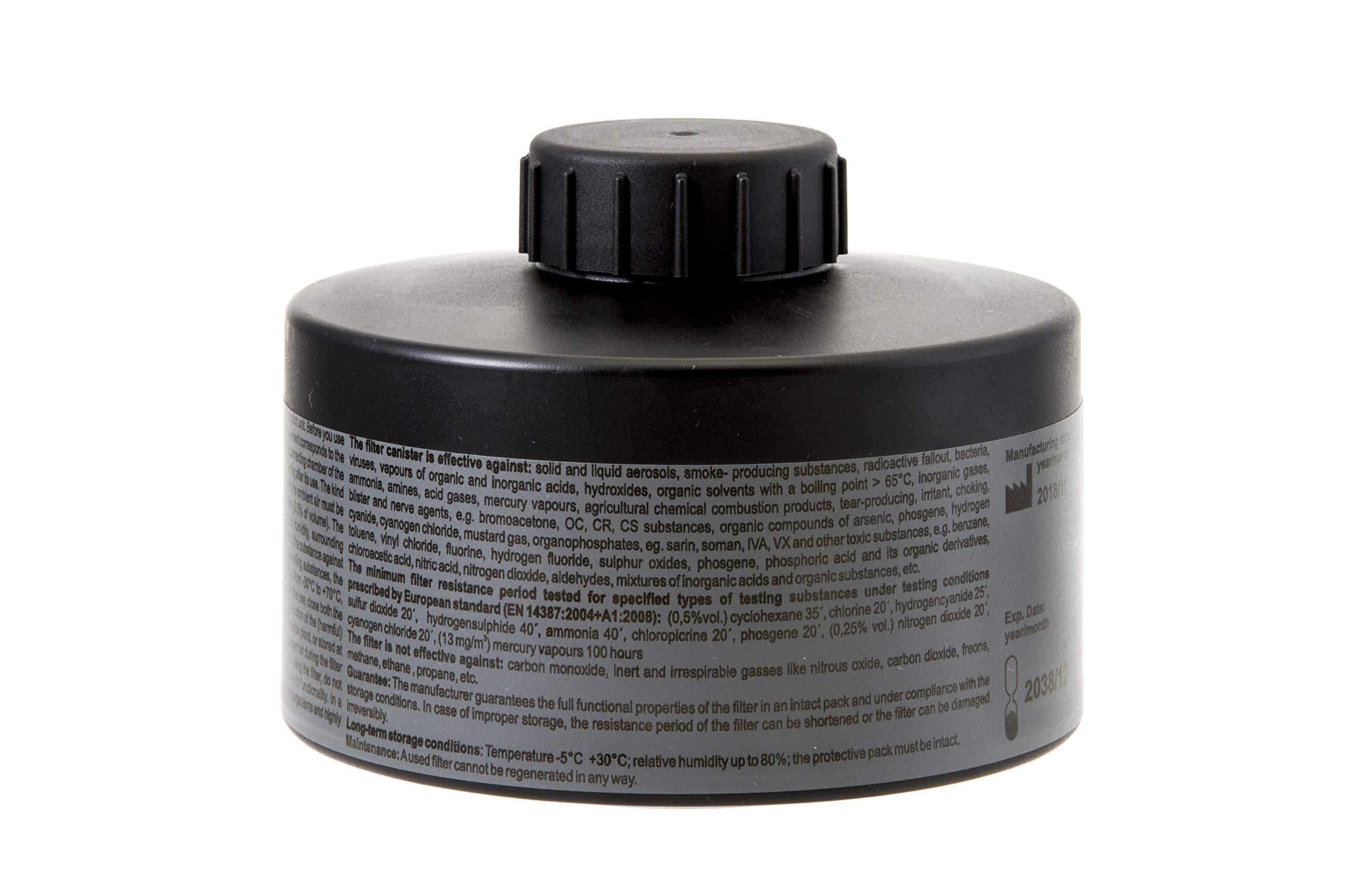 MIRA Multi Gas Vapor Cartridge Respiratory Protection 20 Years Shelf Life CBRN NBC Grade (Mira Filter) by MIRA SAFETY M (Image #2)