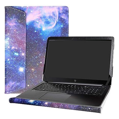 """Alapmk Diseñado Especialmente La Funda Protectora de Cuero de PU para 15.6"""" HP ZBook Studio"""