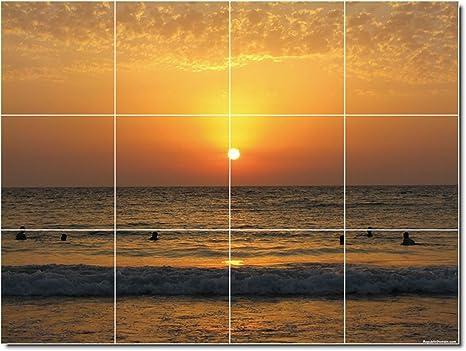 Paesaggi portafoto da parete piastrelle cm