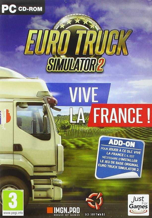 Euro Truck Simulator 2: Vive la France [Importación francesa]: Amazon.es: Videojuegos
