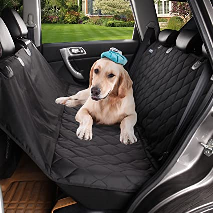 Acelitor Deluxe Dog Seat Covers For CarsDog Car Hammock ConvertibleUniversal Fit