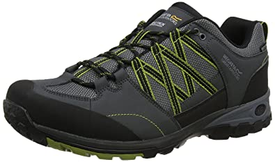 Regatta Burrell II, Chaussures de Randonnée Hautes Homme, Noir (Black/Granit 9V8), 47 EU