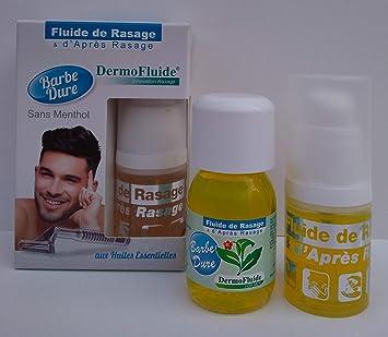 DermoFluide Pack Eco Clásico Barba Dura sin Mentol, Amarillo ...
