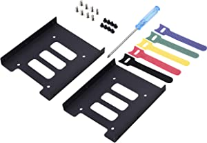 Tewmsc 2.5 to 3.5 Adapter -SSD Mounting Bracket Kit 2.5