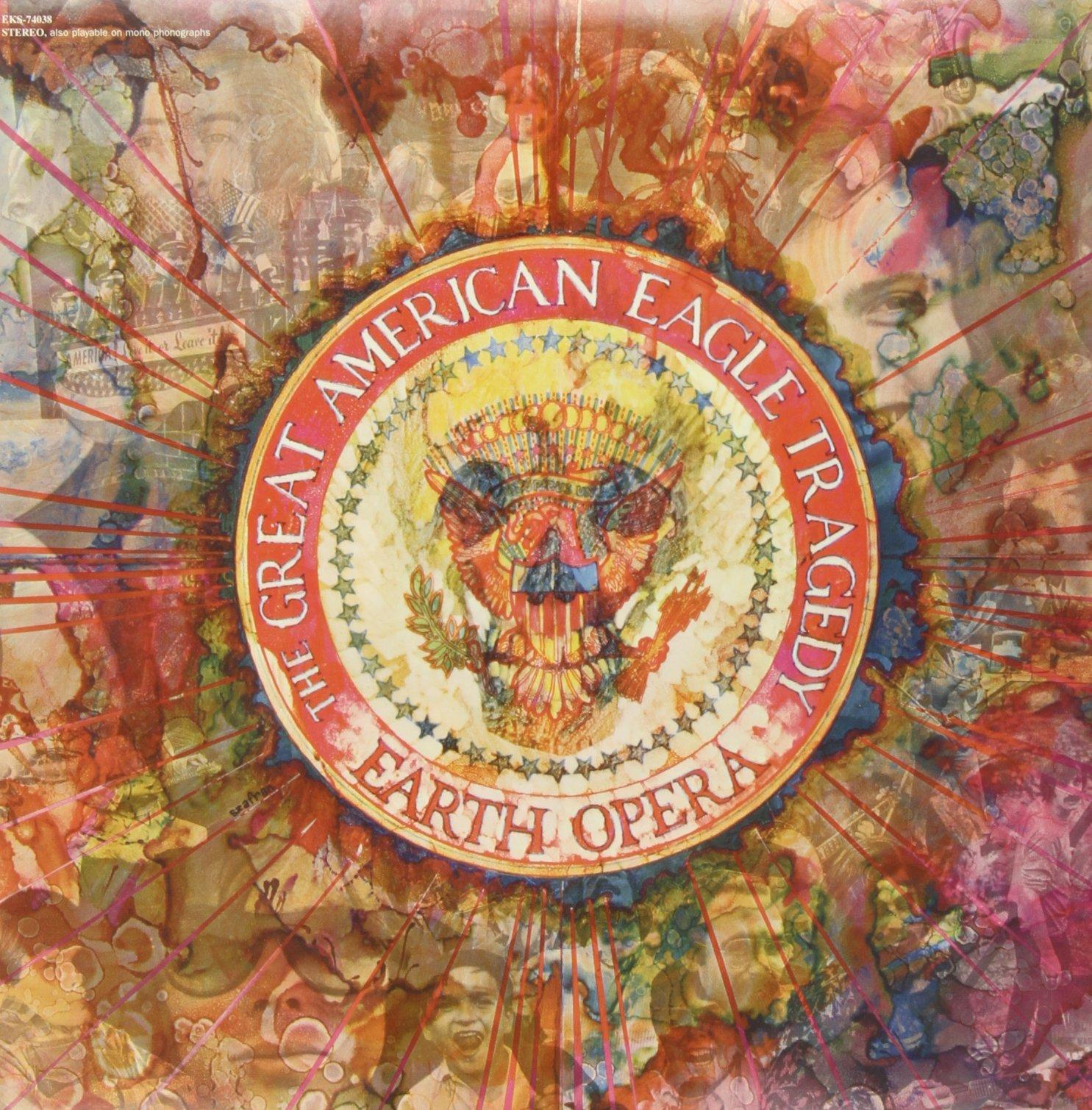Vinilo : Earth Opera - American Eagle Tragedy (LP Vinyl)