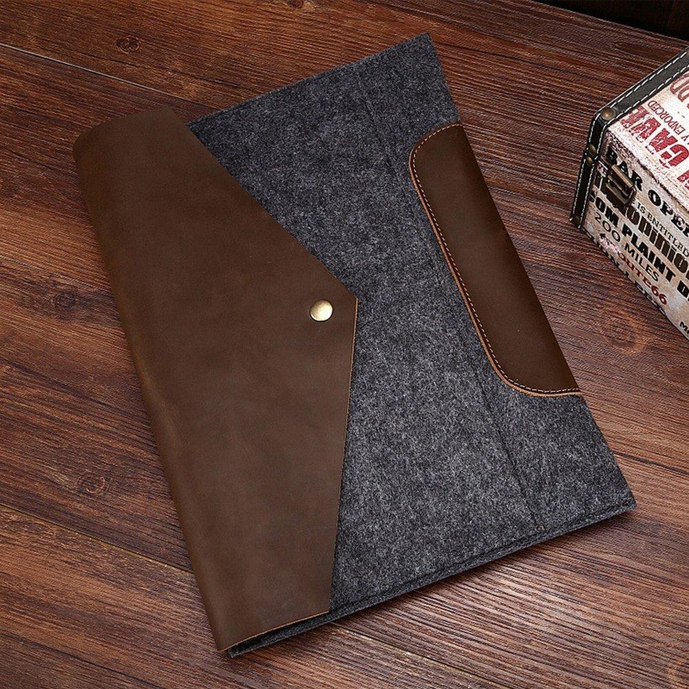 Männliche Handtasche Mann Tasche Crazy Horse Leder Männlichen Umschlag Umschlag Handtasche Freizeit Handtasche , dunkelgrau