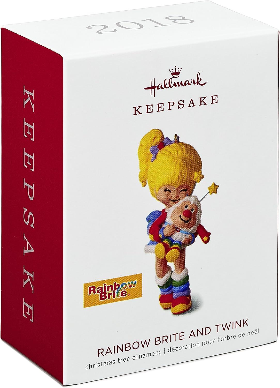 "HALLMARK KEEPSAKE 2016 /"" RAINBOW BRITE /"" CHRISTMAS ORNAMENT TREE NEW IN BOX"