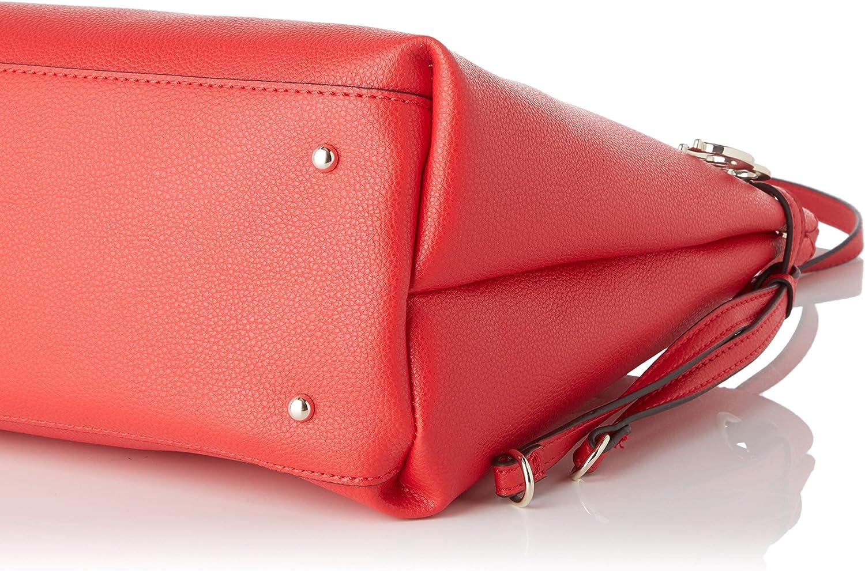 Guess Digital Shopper, Borsa a Spalla Donna, 16x31x39 cm (W x H x L) Rosso (Lipstick)