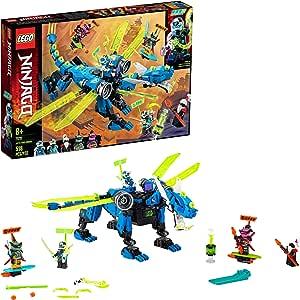 Amazon.com: LEGO NINJAGO Jays Cyber Dragon 71711 Ninja ...