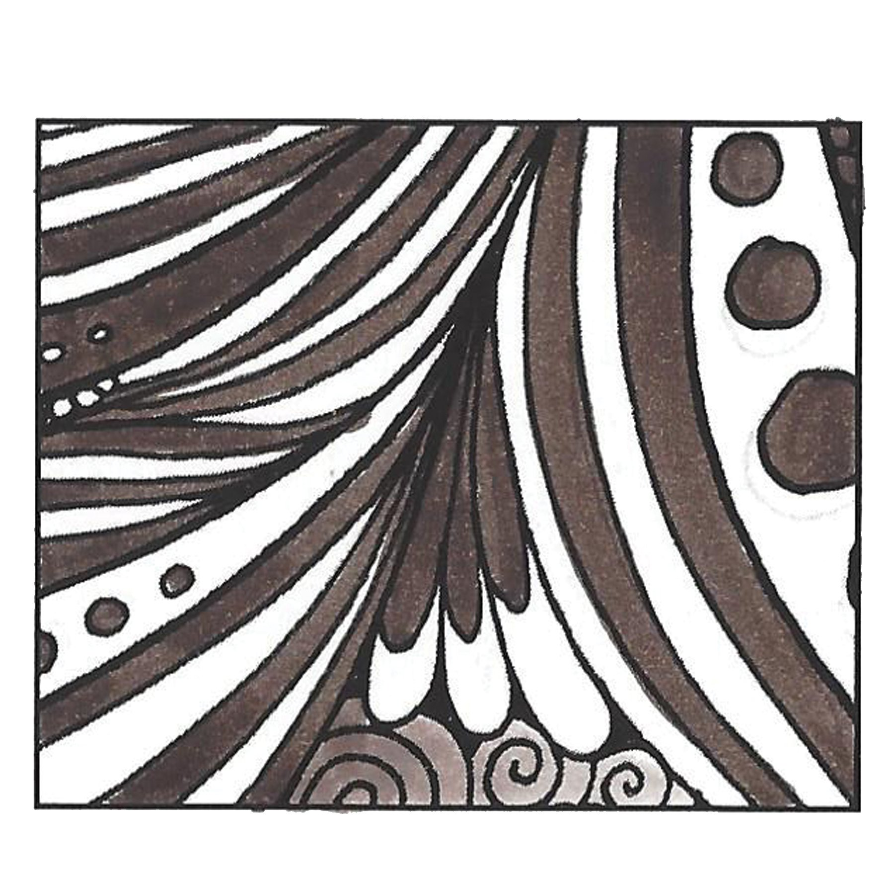 Tombow DBP-56602 Dual Brush Pen Art Marker, 879 - Brown, 1-Pack by Tombow (Image #4)