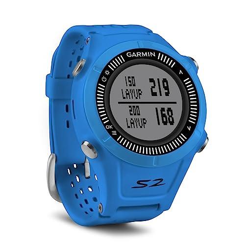 Garmin Approach S2 GPS Golf Watch - Blue/Black