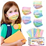 Kids Face Mask, Individually Wrapped Disposable Masks for Kids, Colorful Cute Cartoon Printed Design, 3 Ply Breathable & Comf