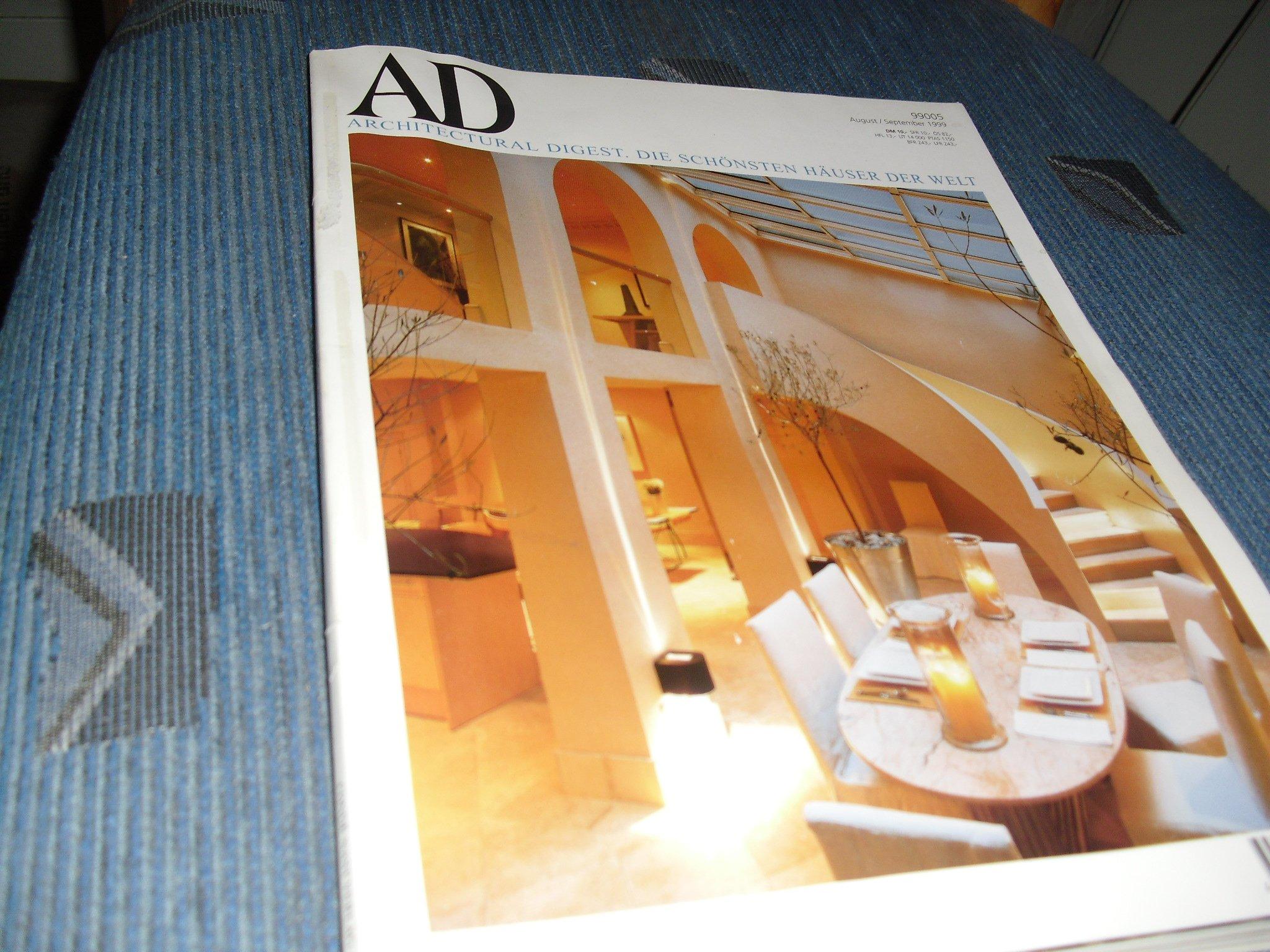 Ad Architectural Digest Die Schonsten Hauser Der Welt Amazon De