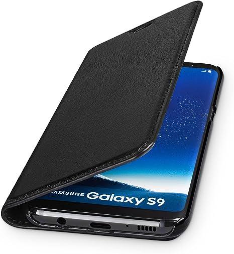 Wiiuka Echt Ledertasche Travel Für Samsung Galaxy S9 Computer Zubehör