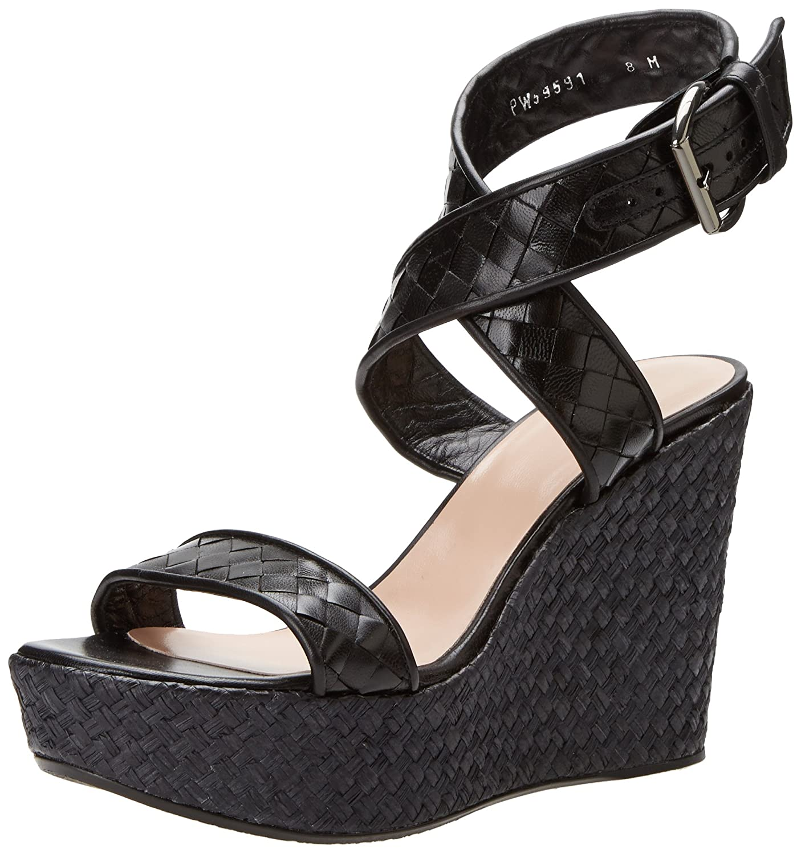 4deb77d98cab8 Amazon.com: Stuart Weitzman Women's Xray Wedge Sandal: Shoes