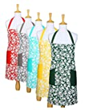 Yourtablecloth Kitchen Apron for Women and Men