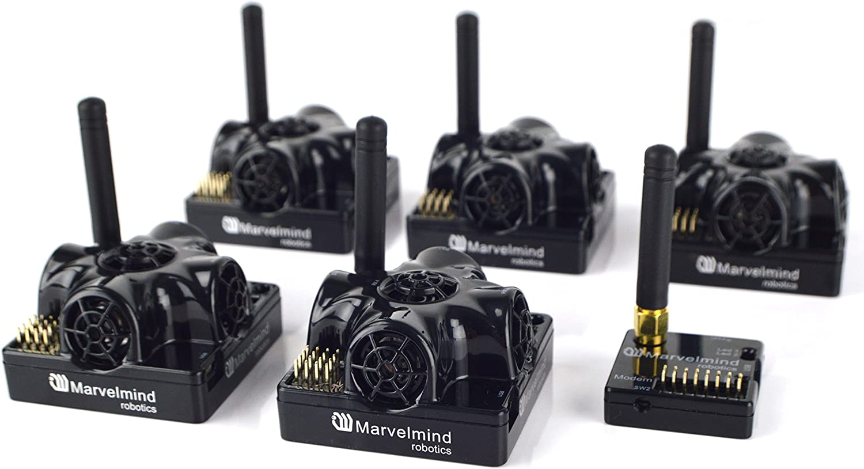 B075WTJMTJ Marvelmind Precise (+-2cm) Indoor GPS Starter Set 915 MHz 81ycU2rvx0L.SL1500_