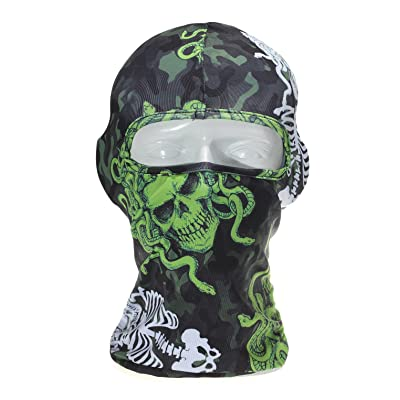 Balaclava Face Mask Windproof Breathable Elastic Cool Fabric Hood For Outdoor Sports Ski Fishing Hunting Hiking Cycling Helmet Liner
