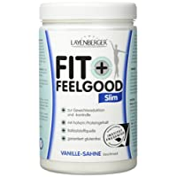 Layenberger Fit+Feelgood Slim Mahlzeitersatz Vanille-Sahne, 1er Pack (1 x 430g)