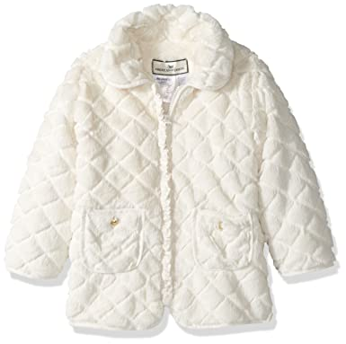 a420bee955ab Amazon.com  Widgeon Little Girls  Faux Fur Jacket (Toddler Kid ...
