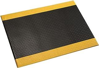 product image for Apache Mills Diamond Plate Mat, 3x60', Black/Yellow Border