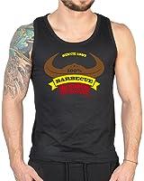 Zum 20 Geburtstag Lustiges Geschenk   Herren Tank Top ärmelloses T Shirt 20  Jahre BARBEQUE
