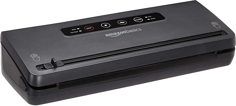 Amazon Basics Vacuum Seal System, Black