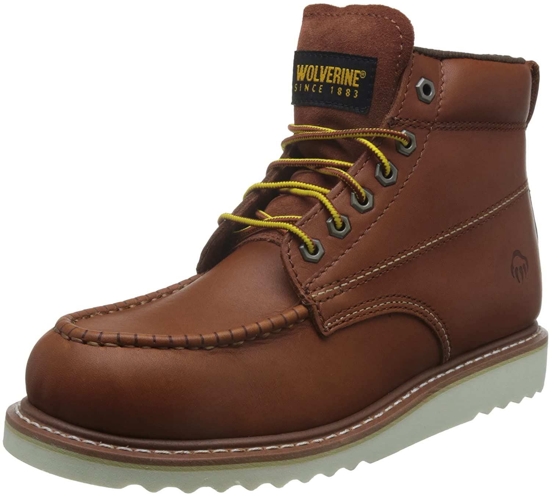 Wolverine Herren Apprentice Men Hi Nub honey Boots, braun