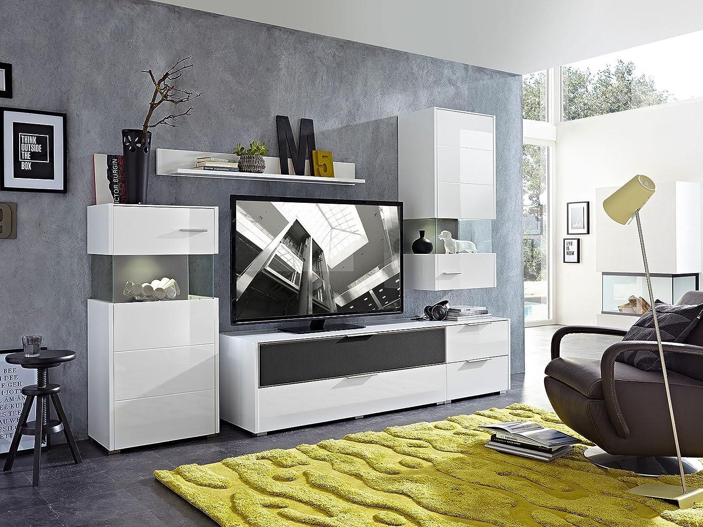 schrankwand kaufen trendy wunderbar wohnwande braun weis wohnwand modern kaufen kreative ideen. Black Bedroom Furniture Sets. Home Design Ideas