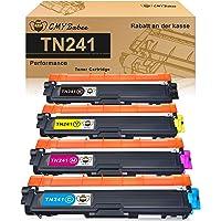 CMYBabee Cartucho de Tóner Compatible Repuesto para Brother TN241 TN245 para DCP-9020CDW DCP-9015CDW HL-3140CW HL…