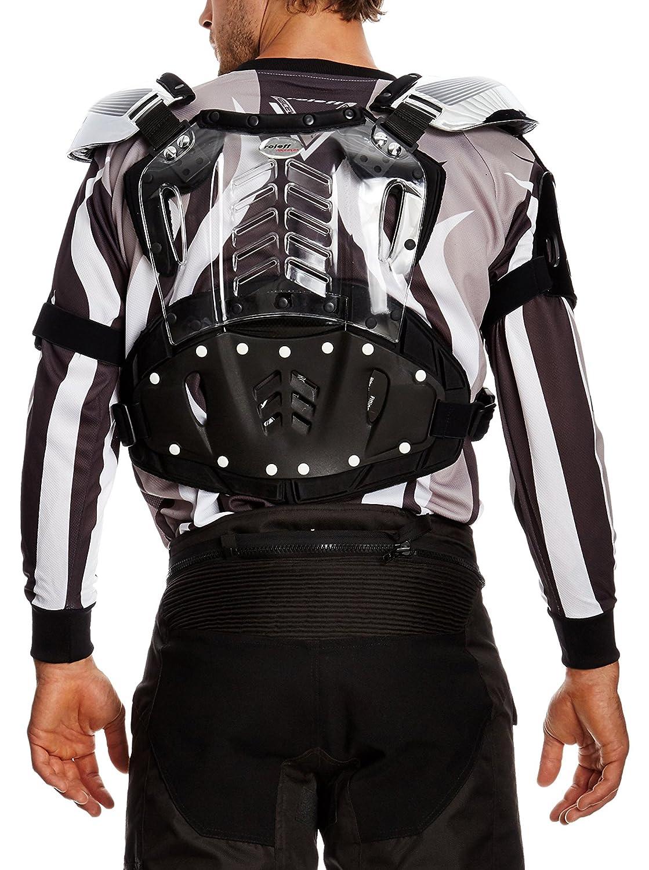 L Roleff Racewear Peto Motocross Plateado Brillante