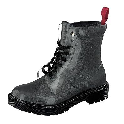 GOSCH SHOES Damen Boots Schuhe Stiefel Wasserfest durchsichtig7105-150-0 in PVC (40) KBvBlfANIQ
