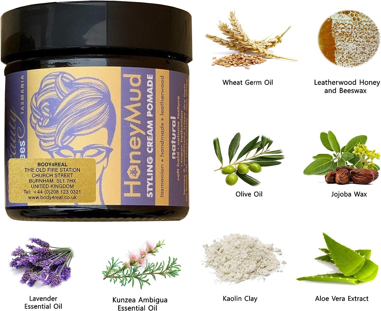 Pomada de barro de miel, 60 ml: Amazon.es: Belleza
