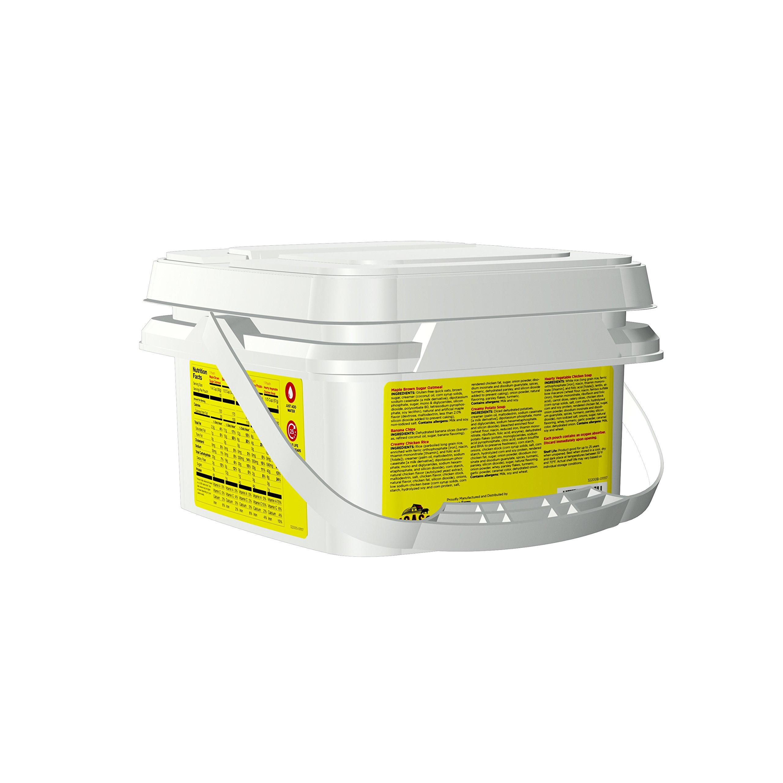 Augason Farms 72-Hour 1-Person Emergency Food Supply Kit 4 lbs 1 oz by Augason Farms (Image #2)
