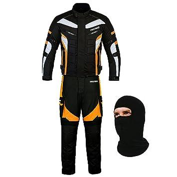 Traje de motociclista de 2 piezas con protección de ...