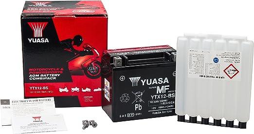 2010 VARTA YTX12-BS Batterie Daelim Otello 125 FI  Bj AGM