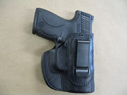 INSIDE THE WAISTBAND LEATHER HOLSTER FOR SPRINGFIELD XDS IWB HOLSTER W// CLIP.