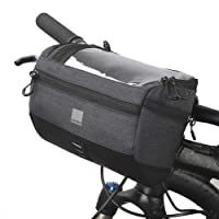 Vertast 3L Fietsstuurtas, fietstas stuur voor MTB, stadspendelaar, waterdicht materiaal, 20 x 10,5 x 16 cm