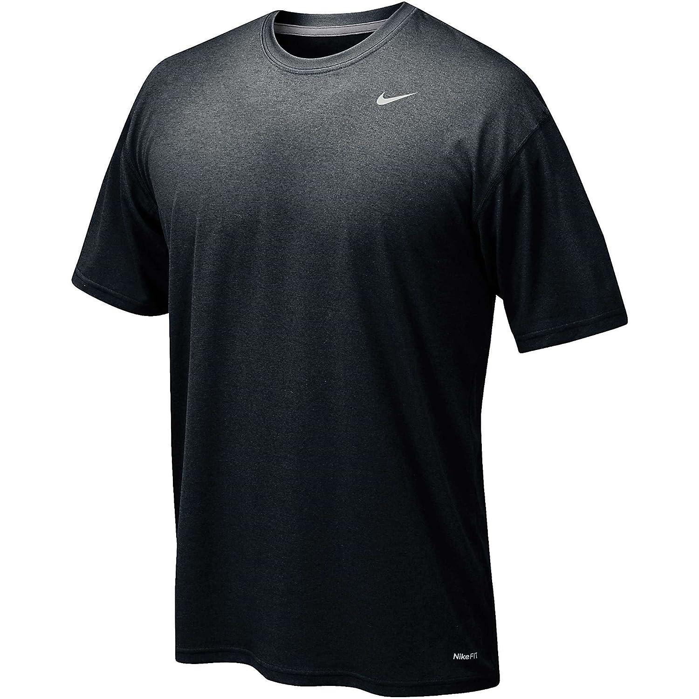 Nike 384407 Legend Dri Fit Short Sleeve Tee – Navy B00AFA7ZDU XXL|ブラック ブラック XXL
