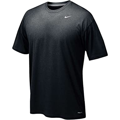 Nike Pro Cool Fitted SchwarzAnthraciteWeiß  Short Sleeve Training Top